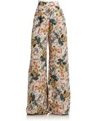 Elizabeth And James Jake Silk Trousers - Lyst
