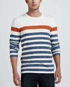 Burberry Brit Striped Long Sleeve Tee - Lyst