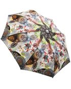 Jean Paul Gaultier Multi Print Folding Umbrella - Lyst