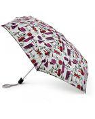 Lulu Guinness Grey London Print Tiny Umbrella - Lyst