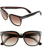 Tom Ford Rock 55mm Sunglasses - Lyst