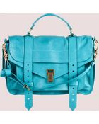Proenza Schouler Ps1 Medium Leather - Lyst