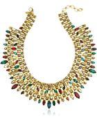 Erickson Beamon Matador Goldplated Crystal Necklace - Lyst