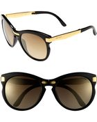 Jimmy Choo Lanas 55mm Sunglasses - Lyst