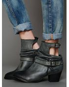 Free People Outpost Ankle Boot - Lyst