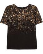 Burberry Prorsum Leopard print Wool jersey Top - Lyst