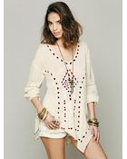 Free People Carioca Landscapes Tunic - Lyst
