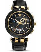 Versace V-Race Watch, 46Mm - Lyst