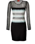 Missoni Mixed Knit Dress - Lyst