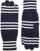 Brooks Brothers Cotton Rugby Stripe Gloves - Lyst