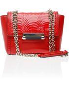 Diane von Furstenberg 440 Mini Snake Combo Bag - Lyst