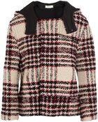 Marni Bouclã©-Tweed Hooded Jacket - Lyst
