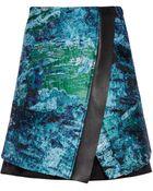 Proenza Schouler Tweed Jacquard Skirt - Lyst