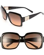 Tory Burch 59mm Oversized Sunglasses - Lyst