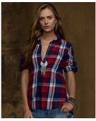 Denim & Supply Ralph Lauren Longsleeve Plaid Flannel Shirt - Lyst