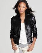 Joe's Jeans Joes Collection Jacket Sequins Teddy University - Lyst