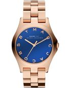 Marc By Marc Jacobs Womens Rose Gold Ionplated Stainless Steel Bracelet 36mm - Lyst