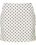 Topshop Dot Mini Skirt   - Lyst