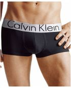Calvin Klein Steel Micro Low Rise Trunk U2716 - Lyst