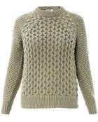 Acne Studios Ruth Air Cotton Sweater - Lyst