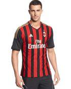 Adidas Ac Milan Jersey - Lyst