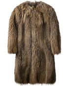 Meteo By Yves Salomon Fur Coat - Lyst