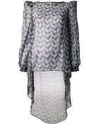 Thomas Wylde Printed Blouse - Lyst
