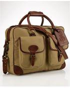 Polo Ralph Lauren Canvas & Leather Commuter Bag - Lyst
