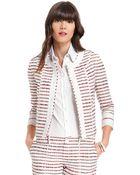 Tommy Hilfiger Stripe Jacket - Lyst