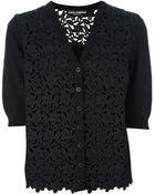 Dolce & Gabbana Dolce Gabbana Lace Cardigan - Lyst