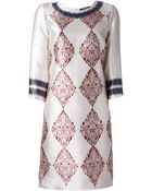 Etro Etro Printed Dress - Lyst