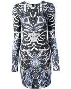 McQ by Alexander McQueen Alexander Mcqueen Printed Dress - Lyst