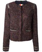 MSGM Tweed Jacket - Lyst