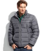 Kenneth Cole Down Puffer Jacket - Lyst