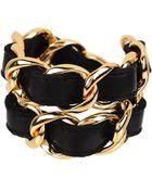CC SKYE Double Wrap Bracelet - Lyst