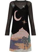 Missoni Moon Print Dress - Lyst