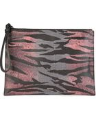 McQ by Alexander McQueen Large Tiger Pouch - Lyst