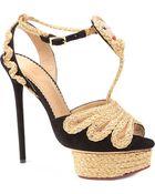 Charlotte Olympia Rapunzel Rapunzel Sandals - Lyst