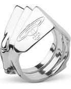 Vivienne Westwood Knuckleduster Sterling Silver Ring - Lyst