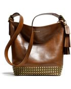 Coach Legacy Archival Duffle in Studded Leather - Lyst
