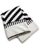 Theodora & Callum Black Multi Zanzibar Beach Towel - Lyst