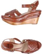 Frye Wedge - Lyst