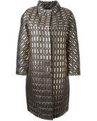 Temperley London Metallic Coat - Lyst