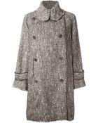 Wunderkind Tweed Coat - Lyst