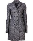 Givenchy Tweed Coat - Lyst