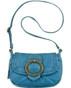 Vintage America Whip It Small Flap Crossbody - Lyst