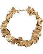 Aurelie Bidermann Feather Necklace - Lyst