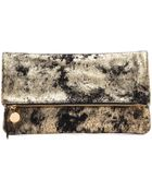 Clare Vivier Fold Over Clutch - Lyst
