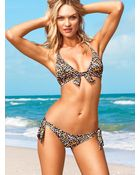 Victoria's Secret Tiefront Triangle Top - Lyst