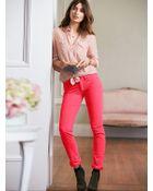 Victoria's Secret Pencil Pant in Corduroy - Lyst